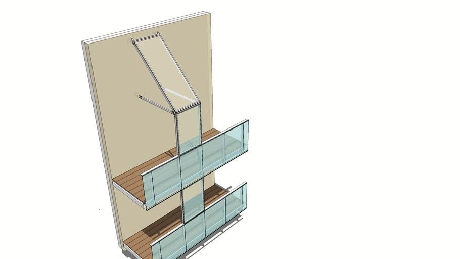 Osłona balkonu Copal