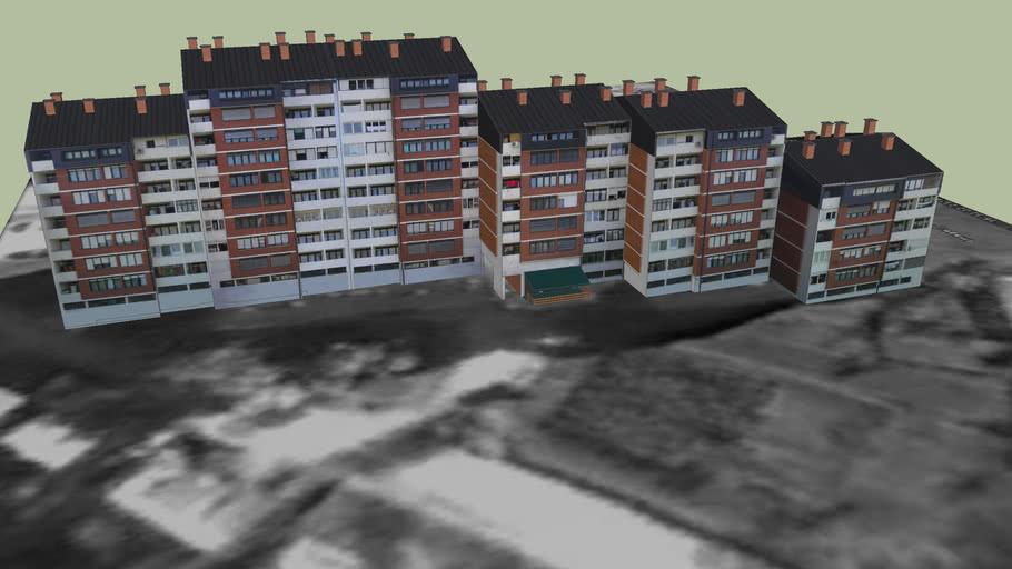 Zgrada za stanovanje, Karlovac, Croatia