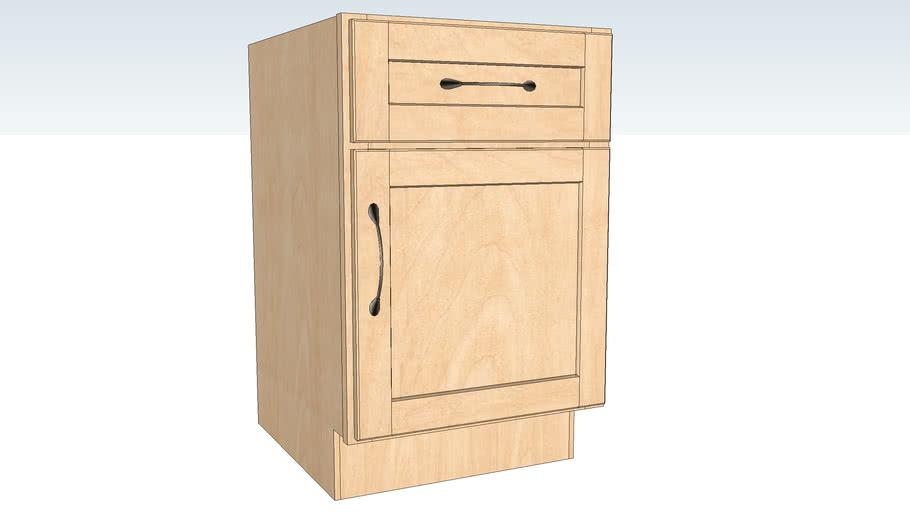 Base Desk Door