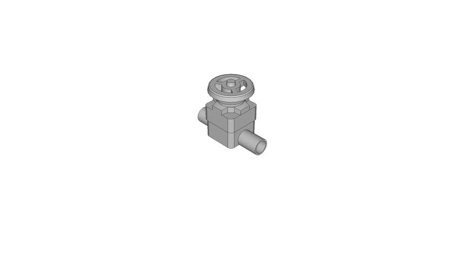 AGRU_11342143211_PP grau_Membranventil_32 - SDR11  ISO S-5_110