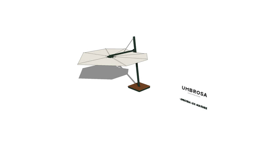 SPECTRA UX NATURE Freestanding Umbrella By Umbrosa