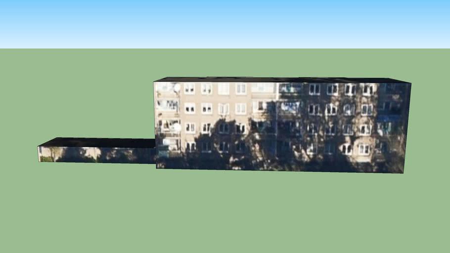 Gebouw aan Robijnhorst, Den Haag, Nederland