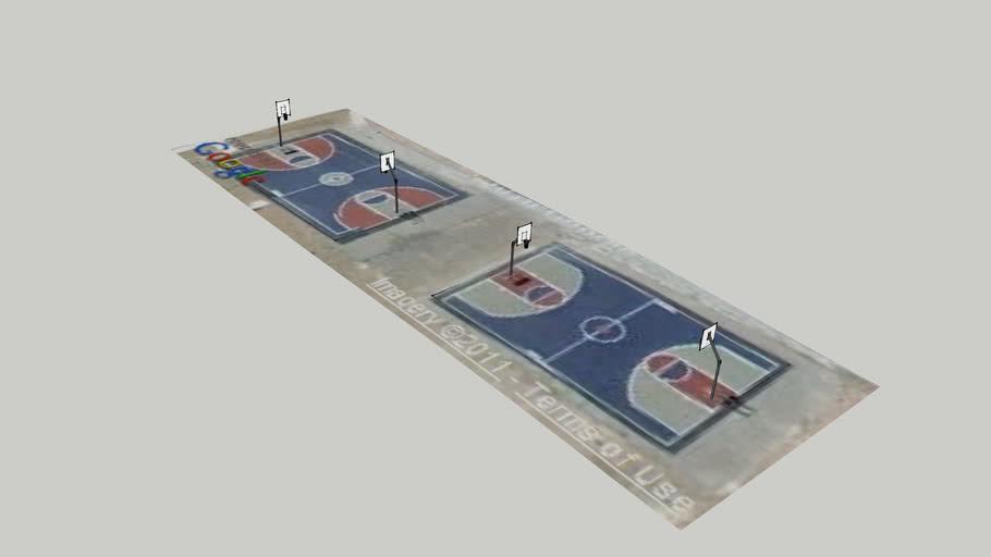 TMECHS basketball courts