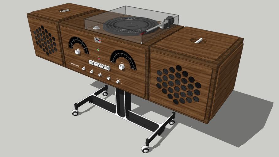 Brionvega Radiofonografo rr226 fo-st