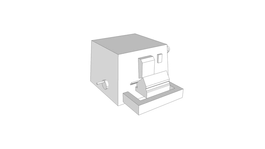 L3400 - Microtome, Rotary, Tilt, Bench Mounted