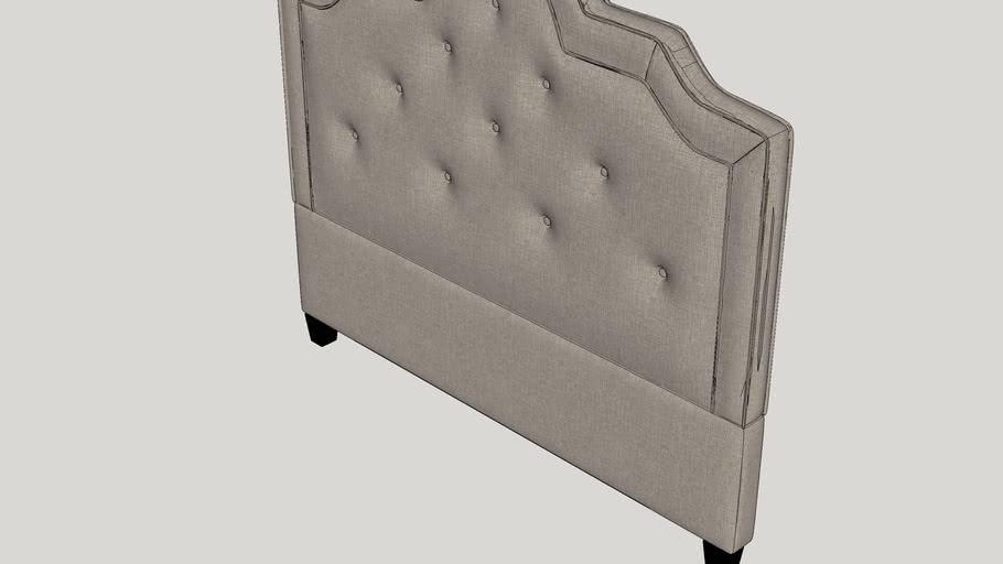 Carrollton Upholstered Panel Headboard
