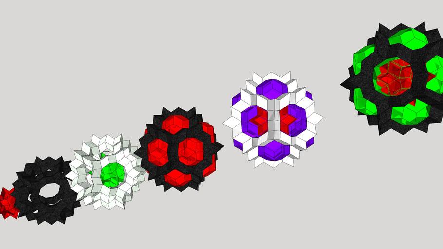 3rd level quasicrystal or celtic sphere