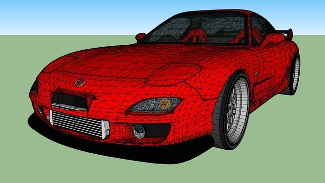 Tuned Mazda RX7
