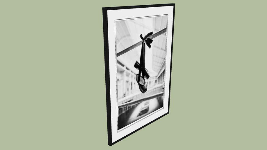 "BRODZIAK ""Ballerina #17"" 93x129 cm - Black&White, Photography, Image, Picture"