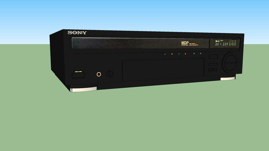 Sony MDP-650D LaserDisc player