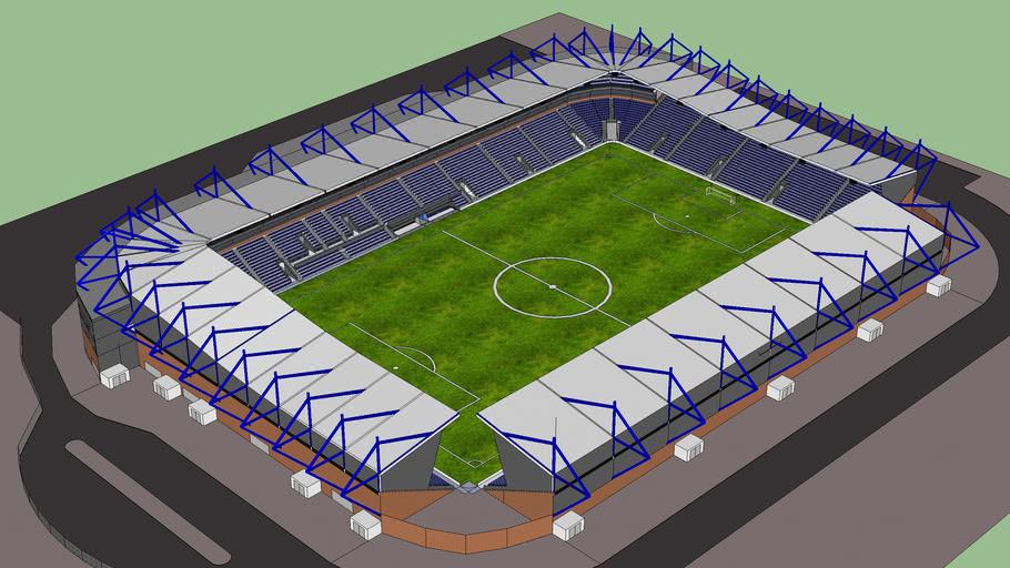 Large football ground (version 2)