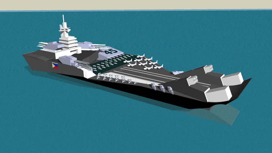 BRP Bathala Class Fast Attack Carrier
