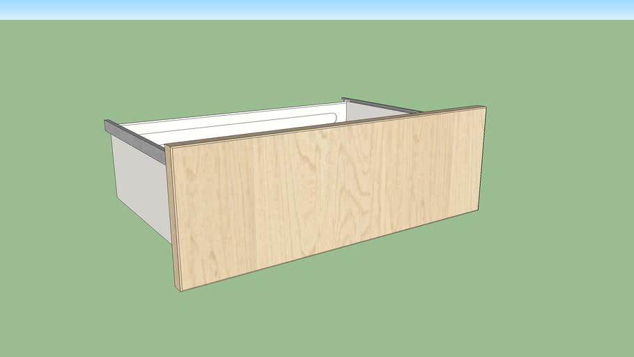 IKEA SKROVA drawer 60x40