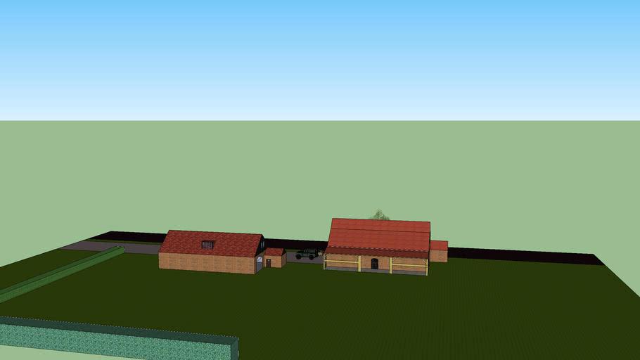 groot huis met erf en alles