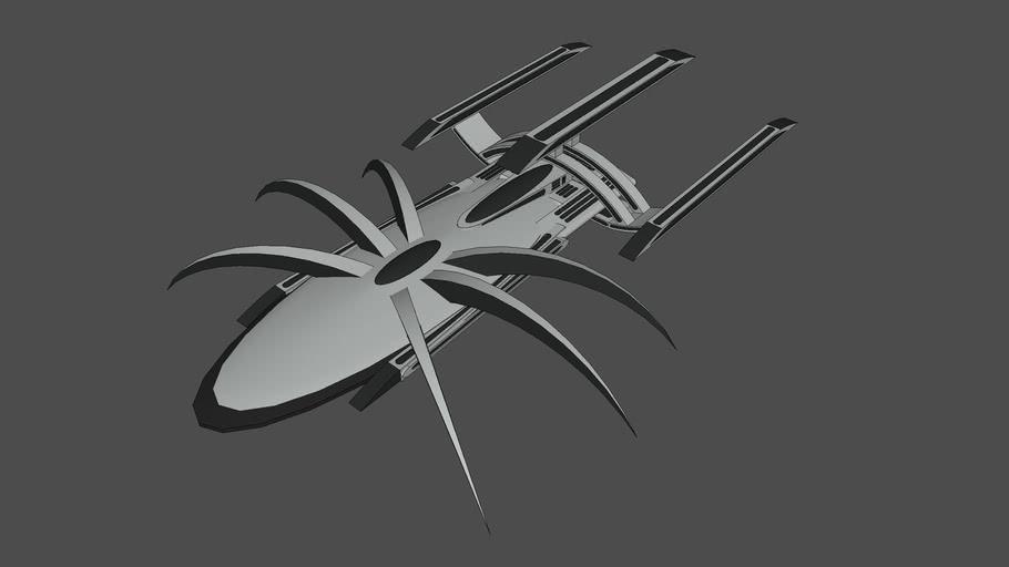 """Spider Ship Queen Arachnia"