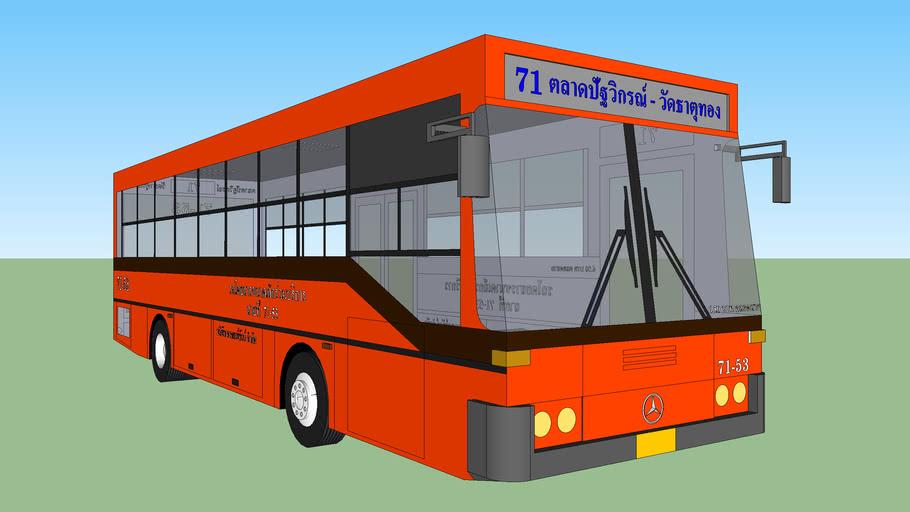 BMTA Bus - Mercedes-Benz O 402 (Minibus)