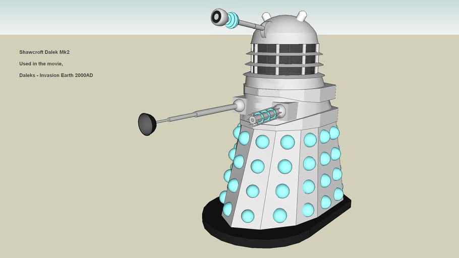 Shawcroft Mk 2 Dalek