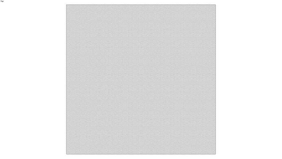 ROCKIT3D | Mesh Hexagon RAL7022