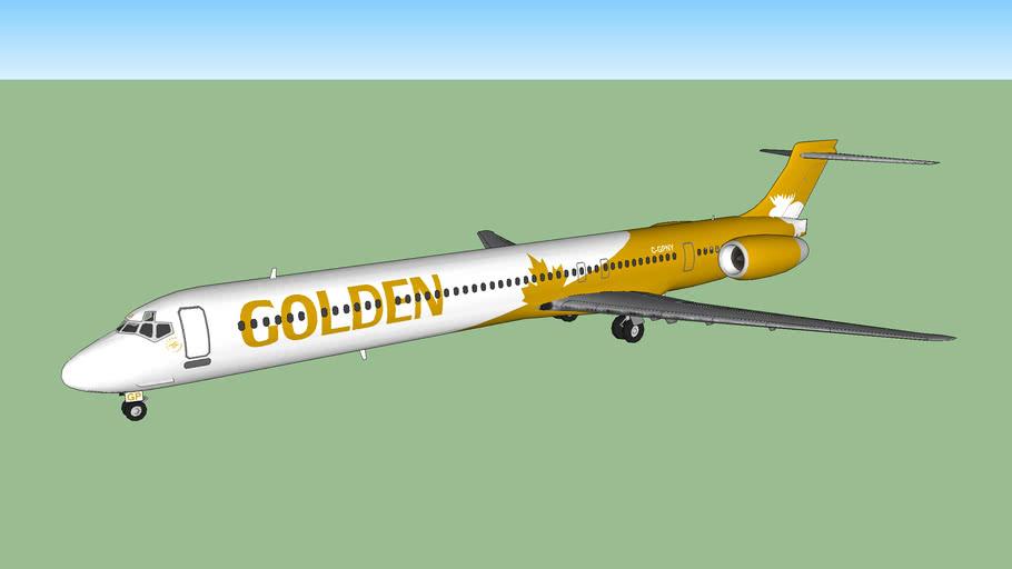 Golden Moose Airways MD-90-30 (2014)
