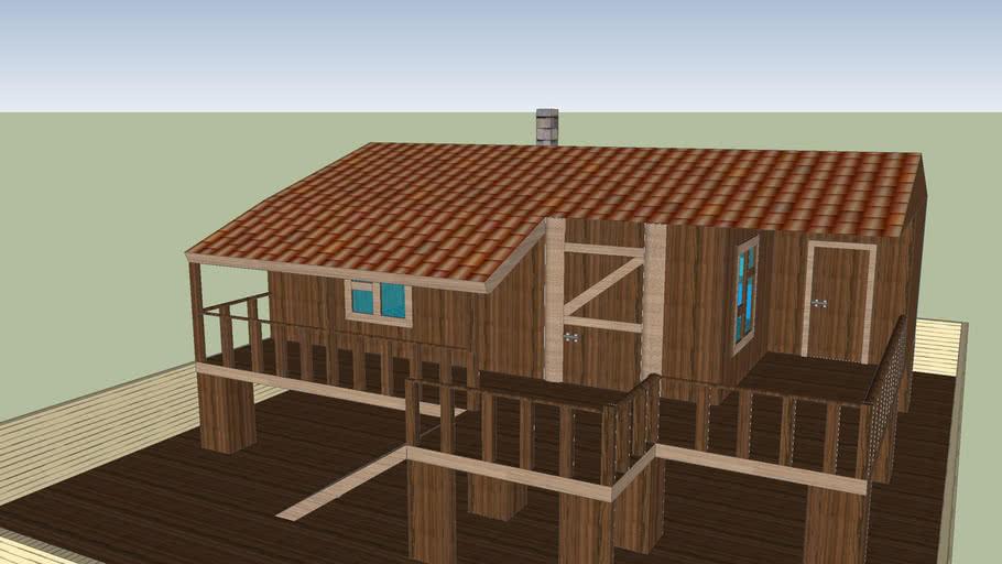 Turkish wood house/Türk odun ev