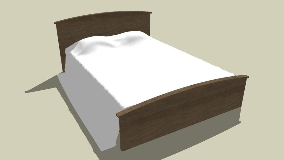 Łóżko - Bed (High Poly)