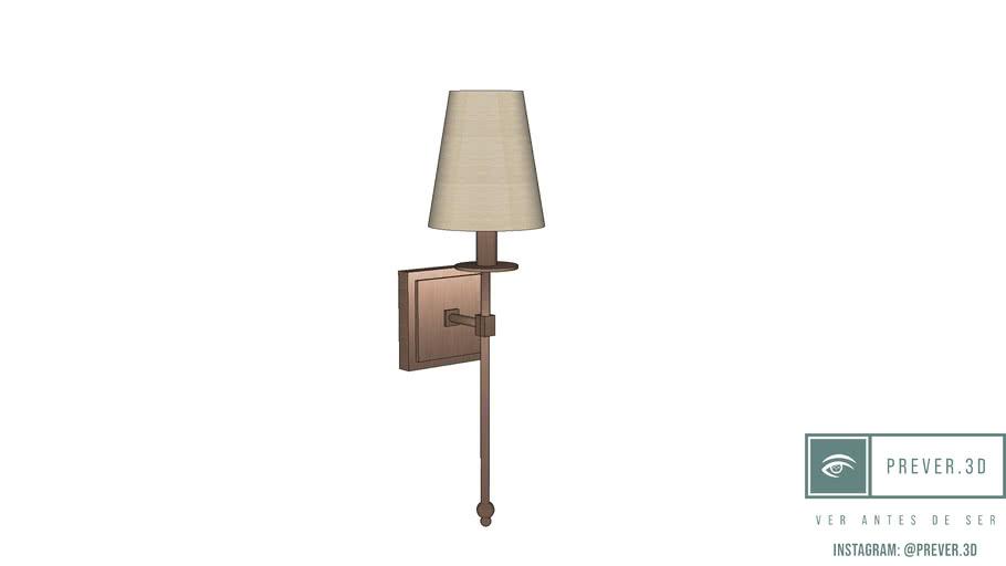 Arandela - Monroe 1 Light Sconce por Savoy House