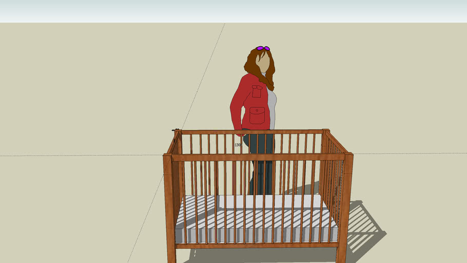 Baby Cot Large standard