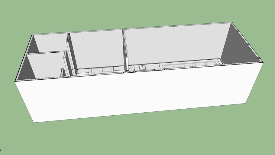 Modulový dom 40m2