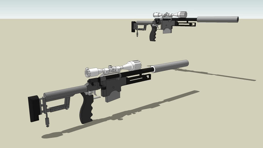M400 Special Sniper operation rifle! * Please Rate*