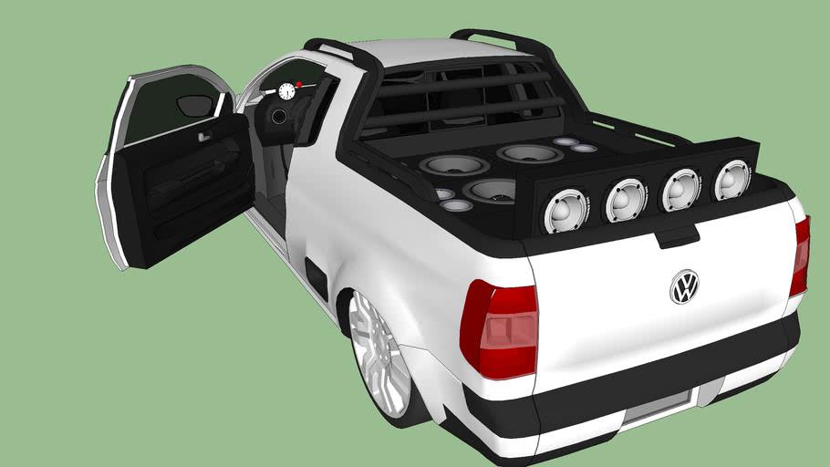 Carro - VW - Saveiro G5 (Rebaixada e Com Som)