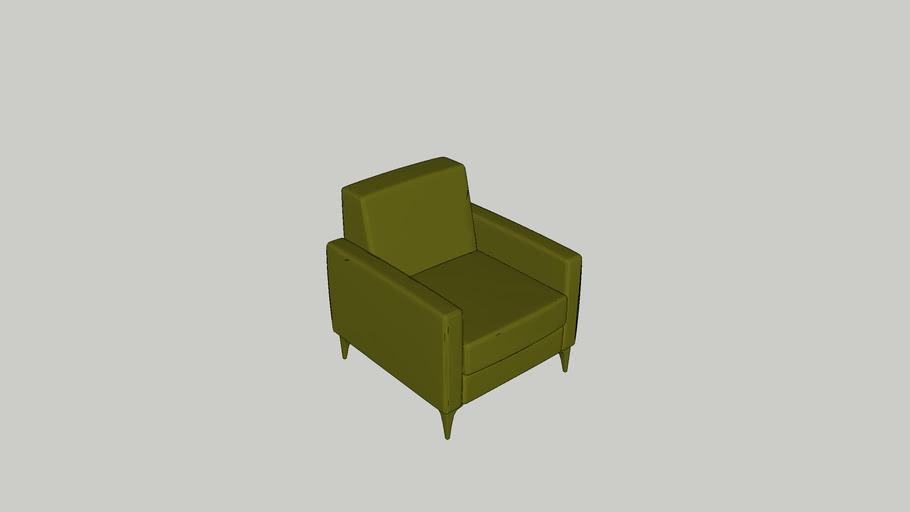 Biccateca - sofá Lino 01 Lugar