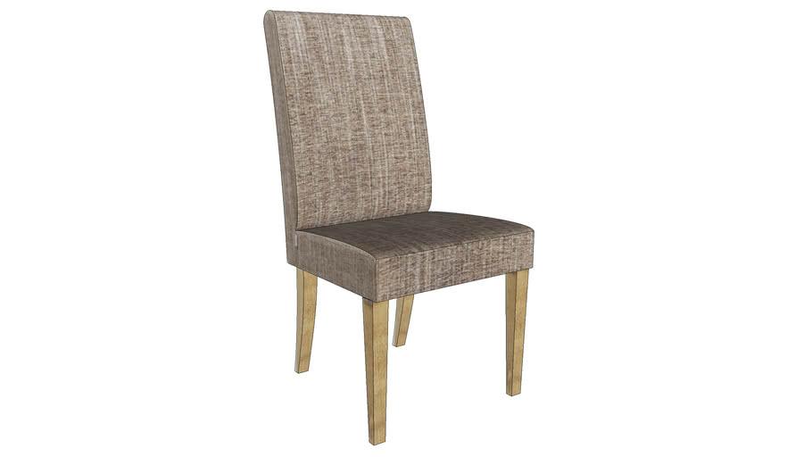 81809 Padded Chair Econo Slim Salty Brown