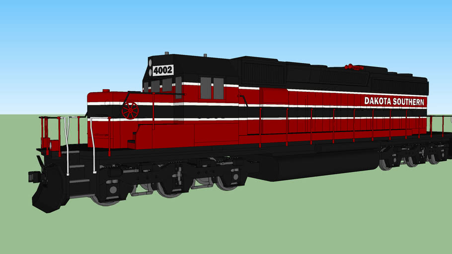 Dakota Southern Railway locomotive