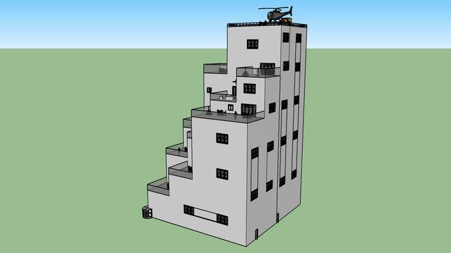 Luxury Step building