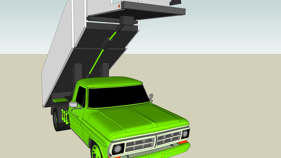 Truck Stairs Jetway Tuned
