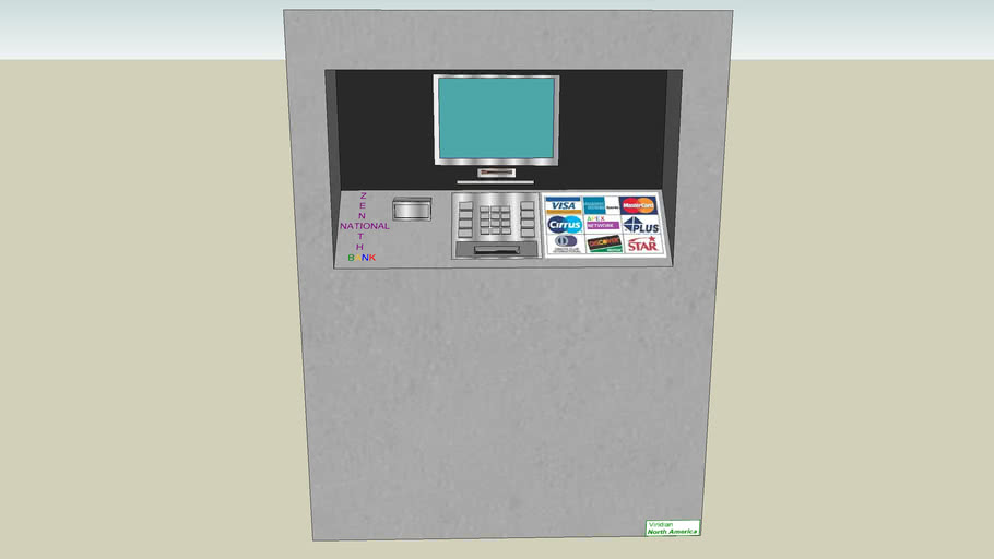Zenith National Bank ATM Machine