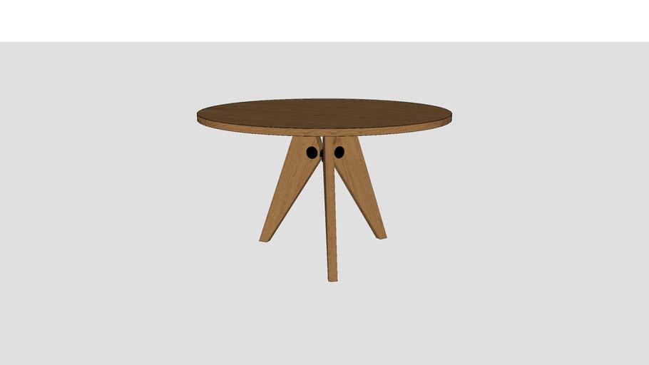 Guéridon Tisch Vitra 120 cm