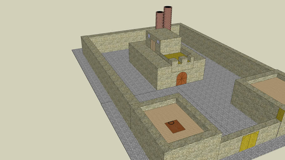 Industrial age castle