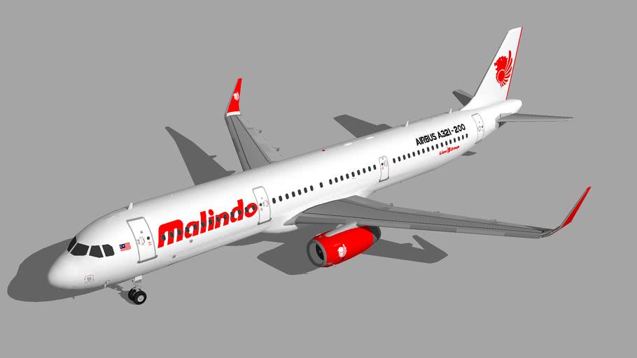 Malindo Air Airbus A321-200 2