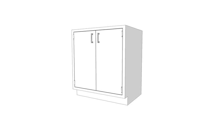 B3530-200 - Lab Base Cabinet - 2 Dr