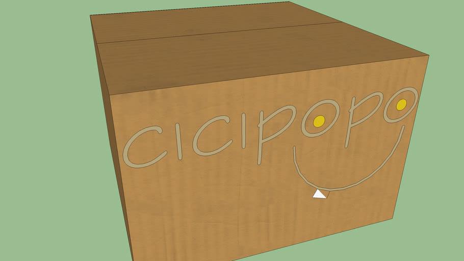 Cicipopo Minicakes in box
