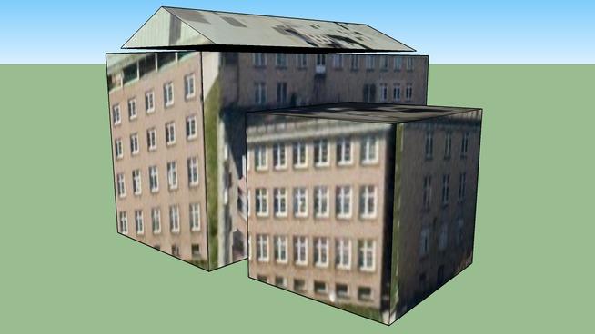 Bygning i Stockholm, Sverige