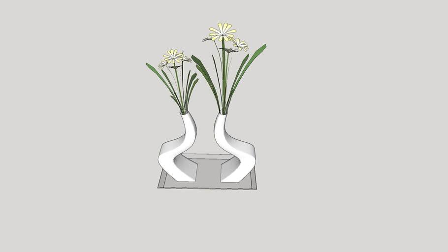 Vaso de flores - 11