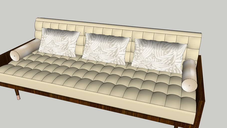 Tufted Retro Sofa Warehouse
