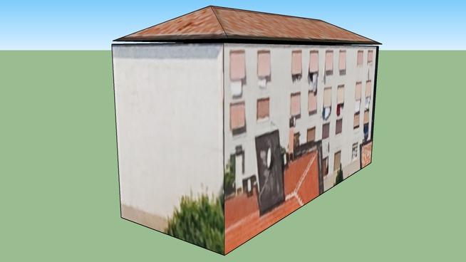 Ēka adresē Milāna, Itālija