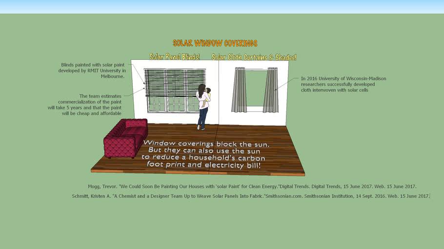 Solar Window Coverings: Utilizing Solar Energy