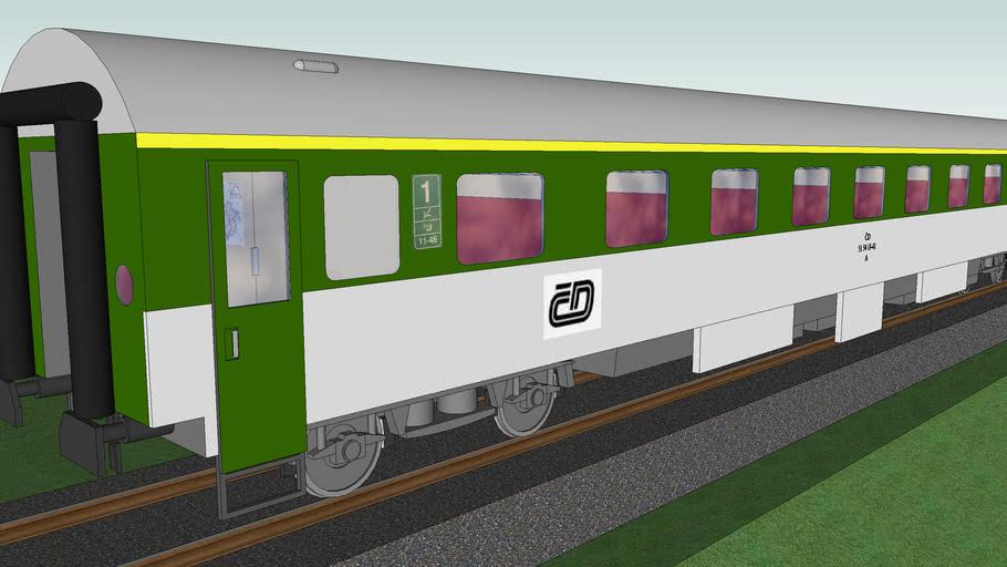 ČD B first class passenger car