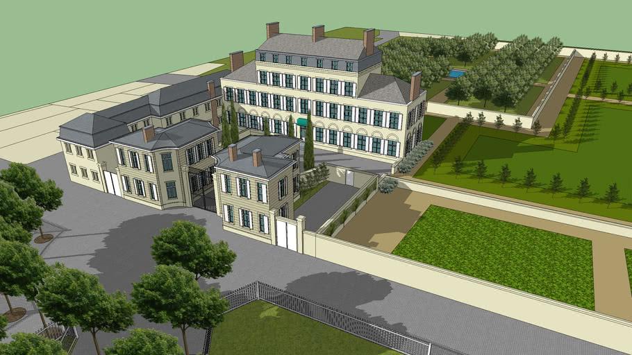 Château du Maine, 14e arrondissement Paris