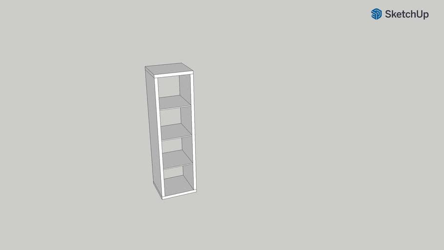 Kallax IKEA 42x147 (4) white