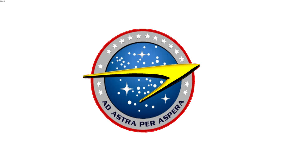 logo Star Trek Starfleet command 22nd century